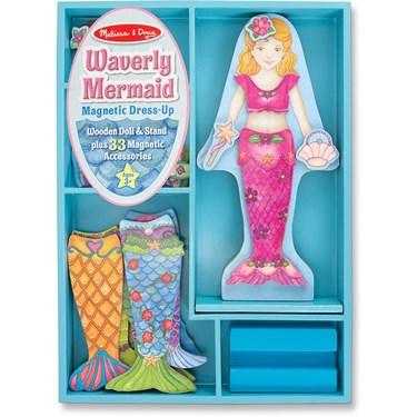 Waverly Mermaid Magnetic Dress Up Set