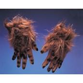 Werewolf Brown Hairy Hands Adult