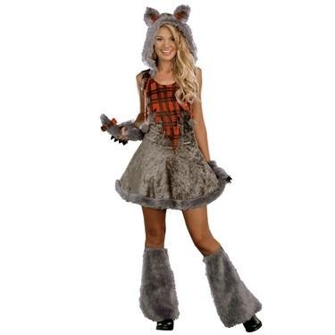 Werewolf Teen Girl Costume