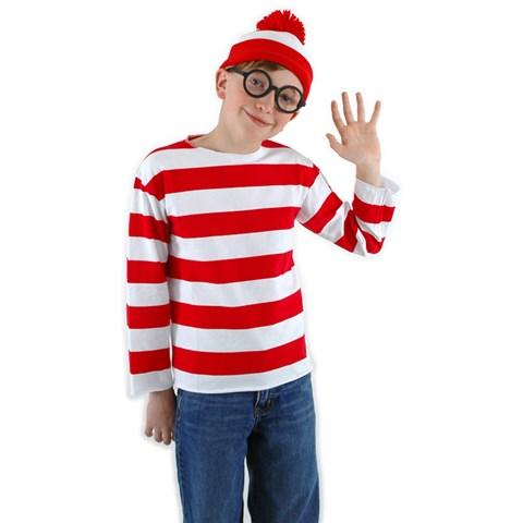 Where's Waldo Child Costume Kit