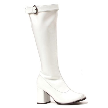 White Adult Gogo Boots