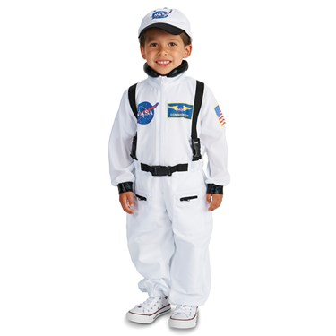 White Astronaut Toddler Costume
