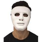 White Blank Mask