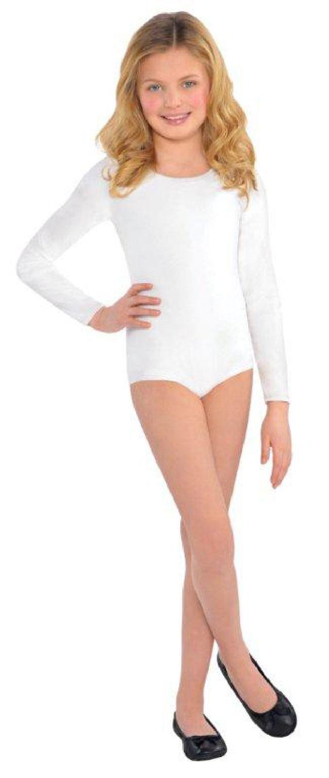 Leotard White Tights White Leotard For Girls Bc