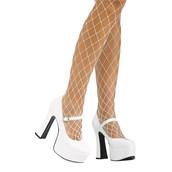 White Mary Jane Shoe