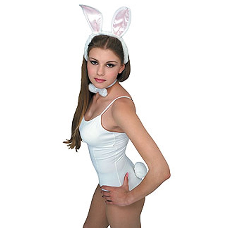 White / Pink Bunny Accessory Kit (Adult)