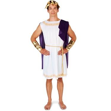 White Toga (Short) Man Adult Costume