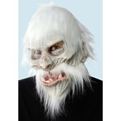 White Warrior Mask For Adults