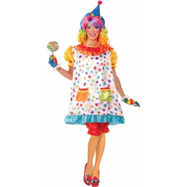 Wiggles The Clown Adult Costume