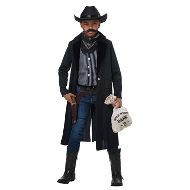 Wild West Sheriff/Outlaw Child Costume