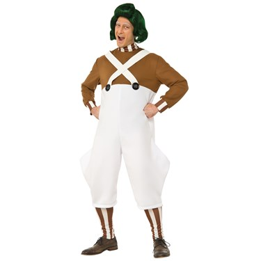 Willy Wonka & the Chocolate Factory: Oompa Loompa Deluxe Adult Costume