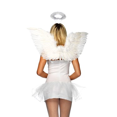 Wings And Halo Set- White