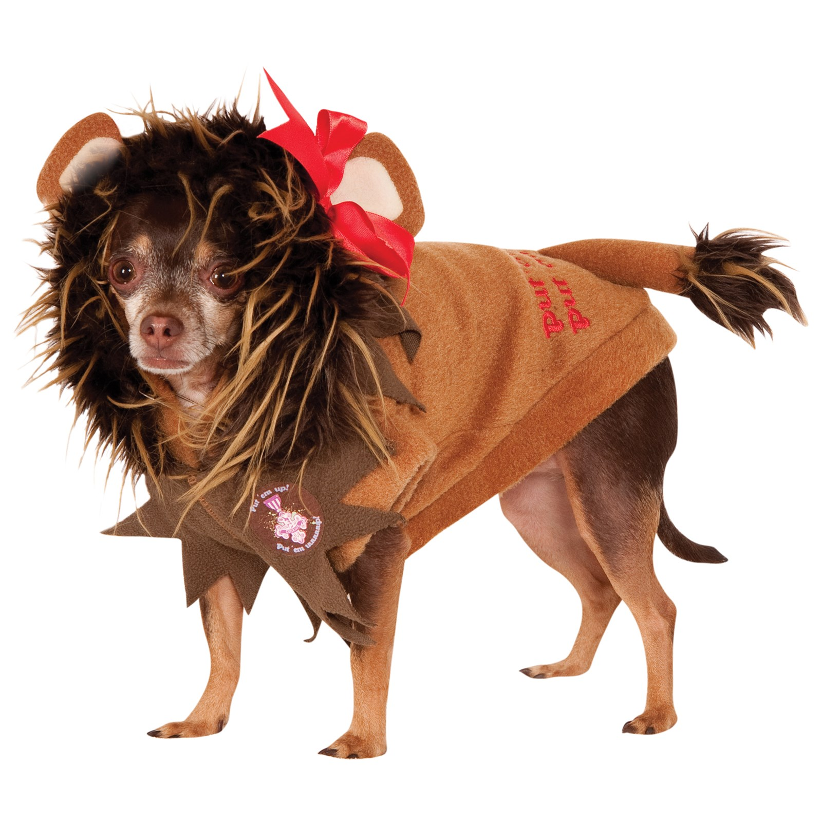 Wizard Of Oz - Cowardly Lion Dog Costume | BuyCostumes.com