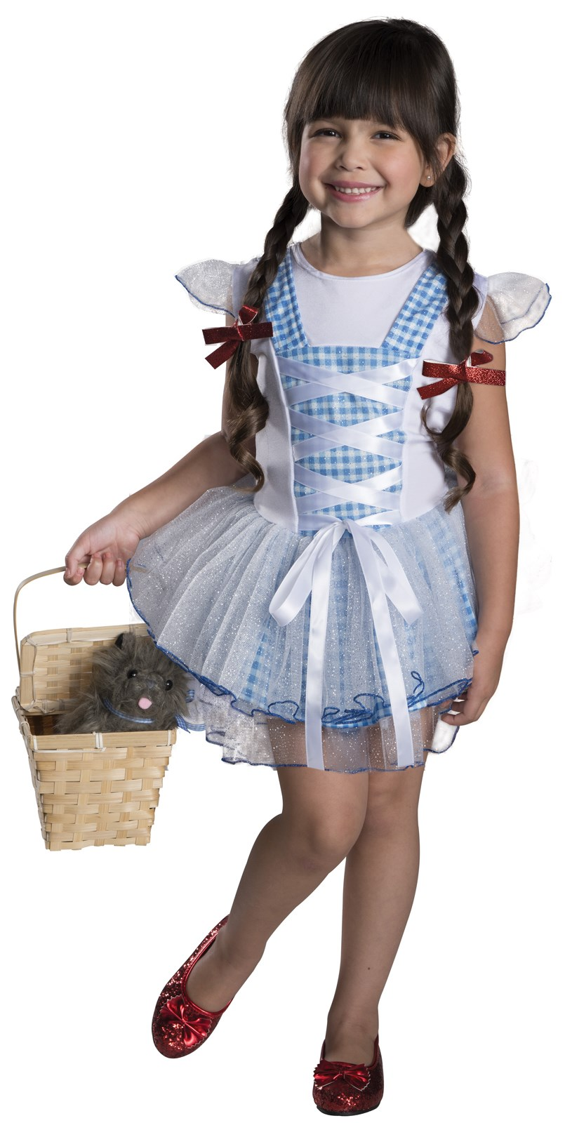 Wizard of Oz - Dorothy Tutu Girls Costume | BuyCostumes.com