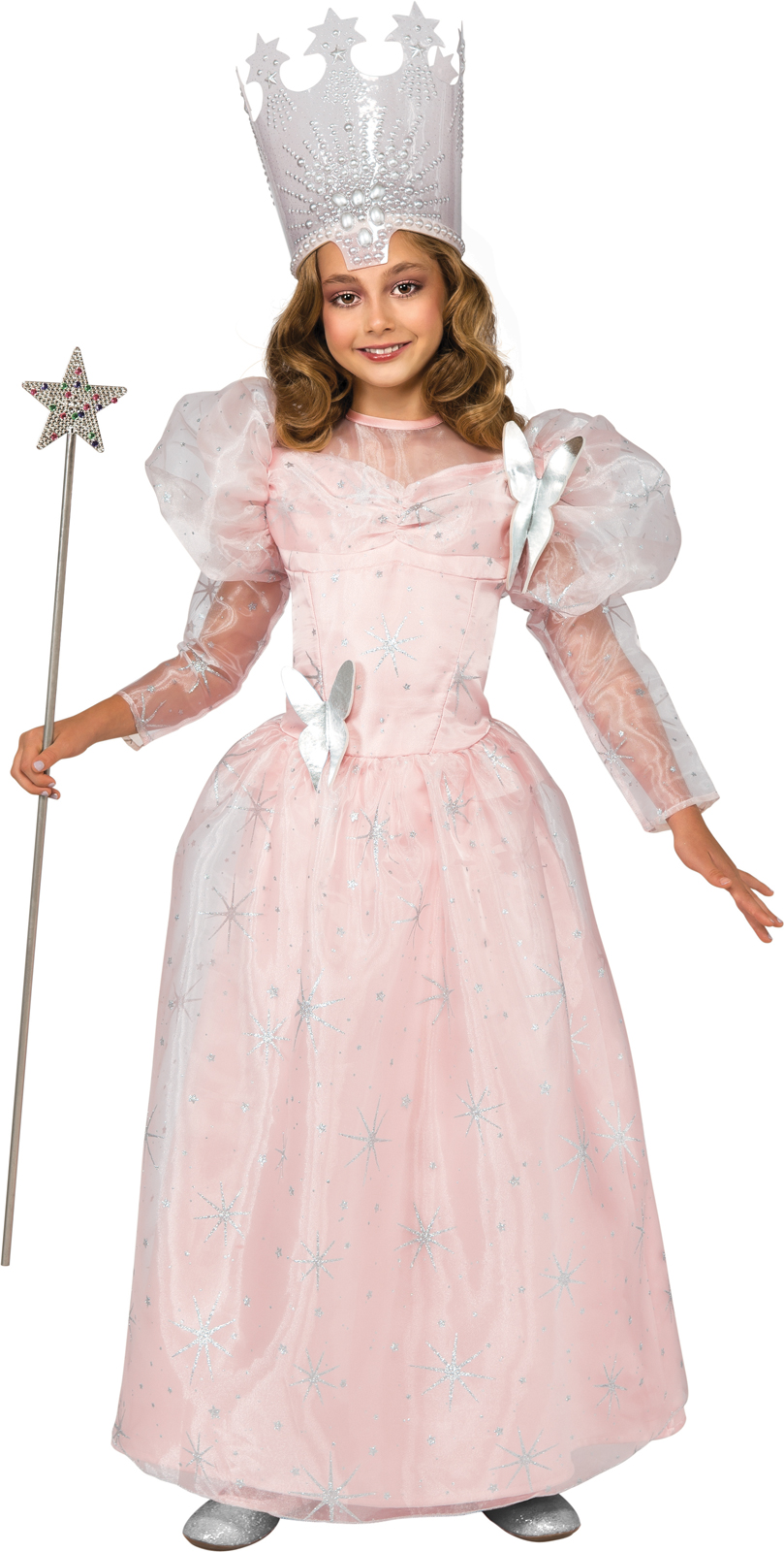 Wizard Of Oz-Glinda The Good Witch Deluxe Child Costume ...