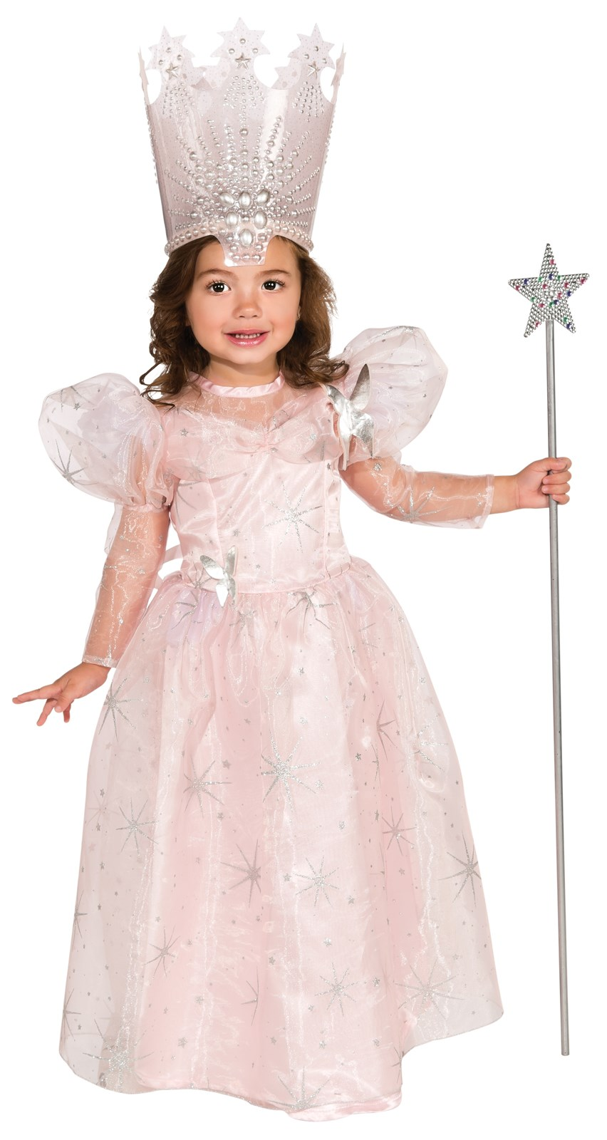 Wizard Of Oz-Glinda The Good Witch Deluxe Toddler Costume ...
