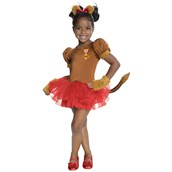 Wizard of Oz - Lion Tutu Girls Costume
