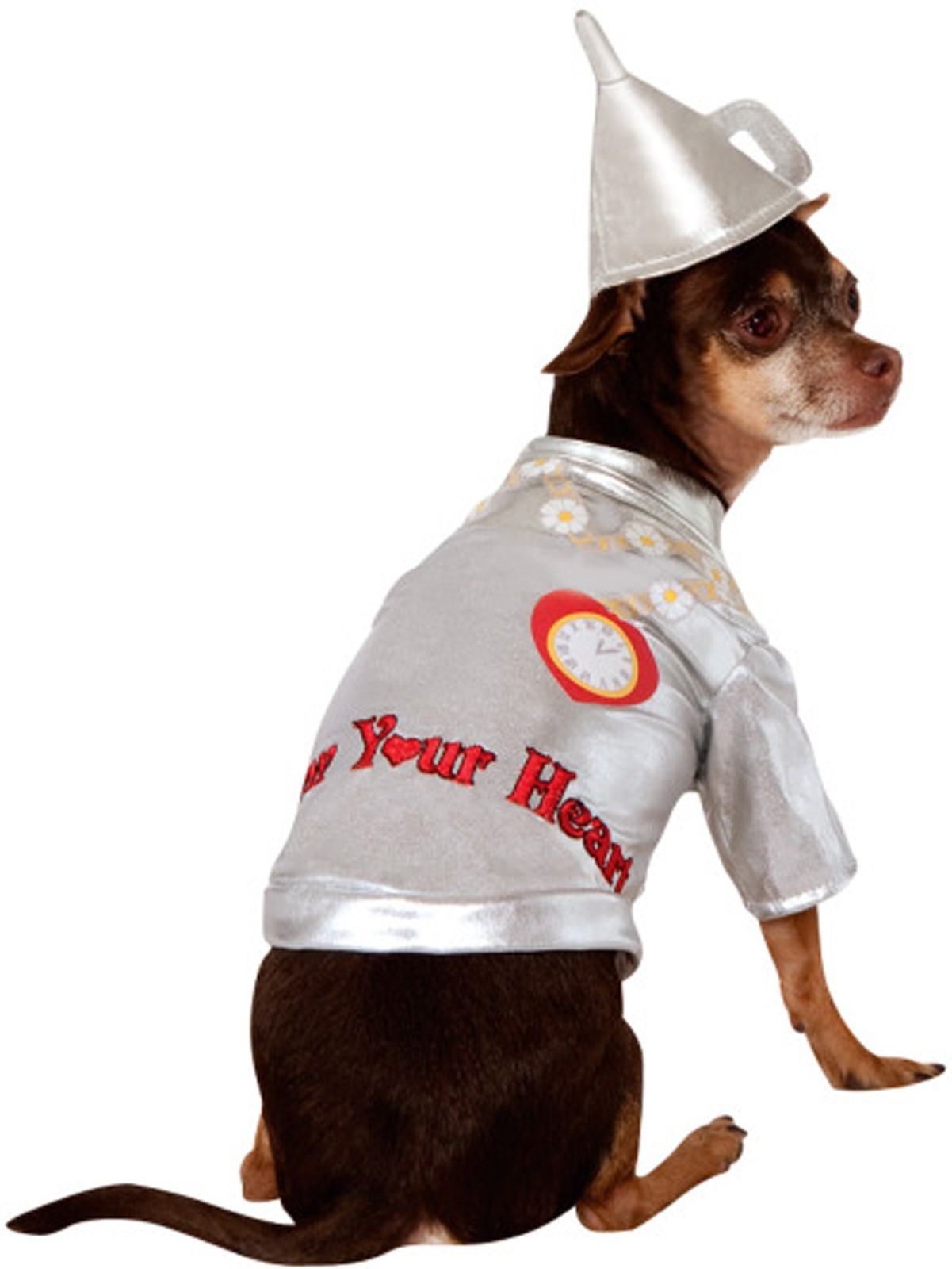 Wizard Of Oz - Tin Man Dog Costume | BuyCostumes.com