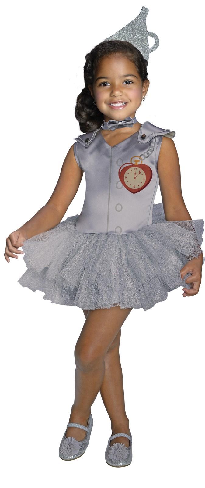 Wizard of Oz - Tin Man Tutu Girls Costume | BuyCostumes.com