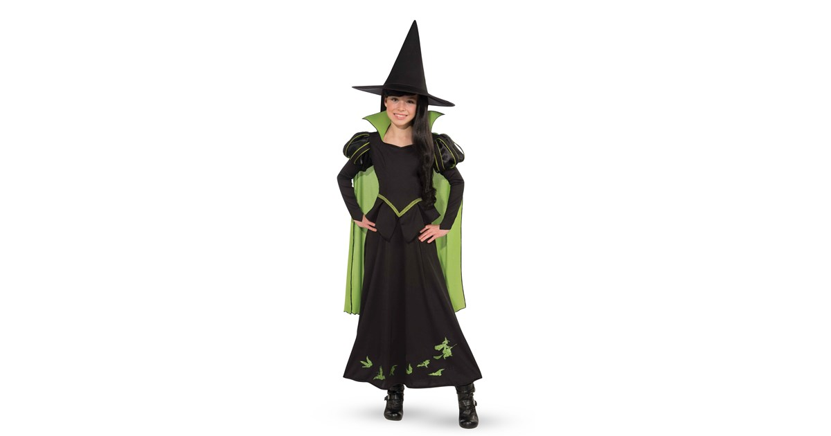 wizard of ozwicked witch of the west child costume