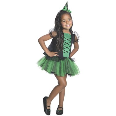 Wizard of Oz - Wicked Witch of the West Tutu Girls Costume