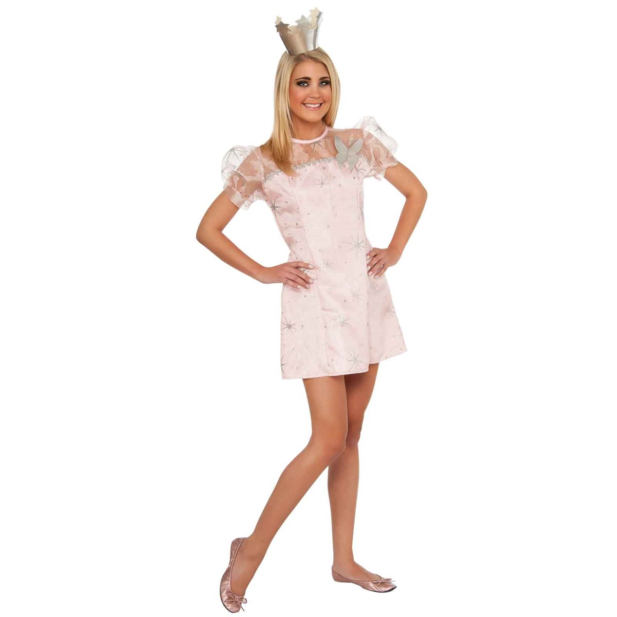Wizard Of Oz - Young Adult Glinda The Good Witch Dress ...