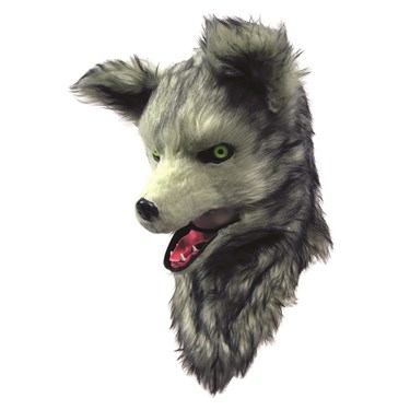 Wolf Moving Mouth Adult Mask