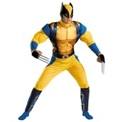 Wolverine Muscle Teen Costume