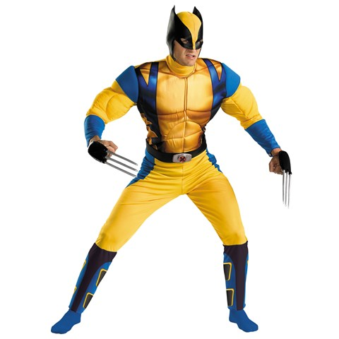 Wolverine Muscle Teen Costume