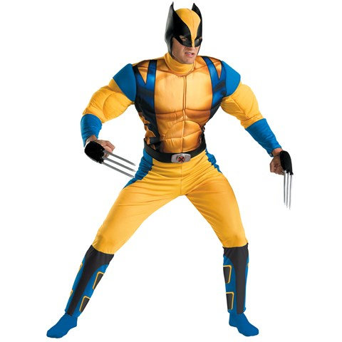 Wolverine Origins Classic Muscle Adult Costume