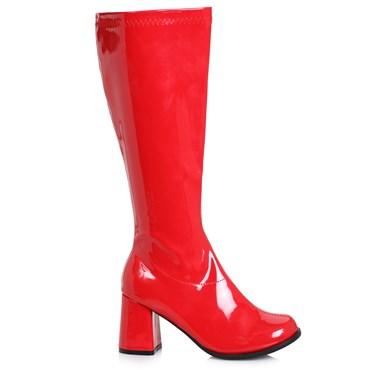 Women's 3 inch Wide Width Red GoGo Boot