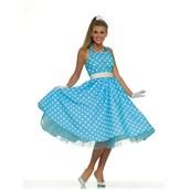 Womens 50's Prom Dress Costume