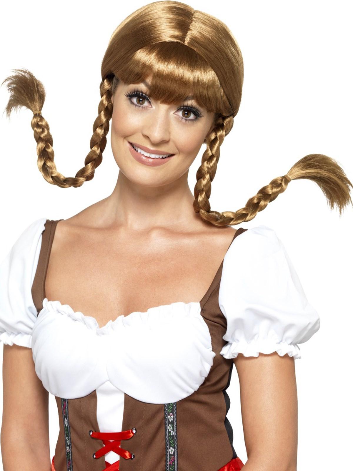 Womens Bavarian Babe Wig