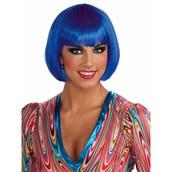 Womens Blue Bob Wig