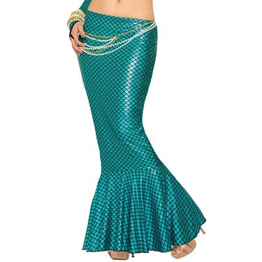 Women's Blue Mermaid Skirt