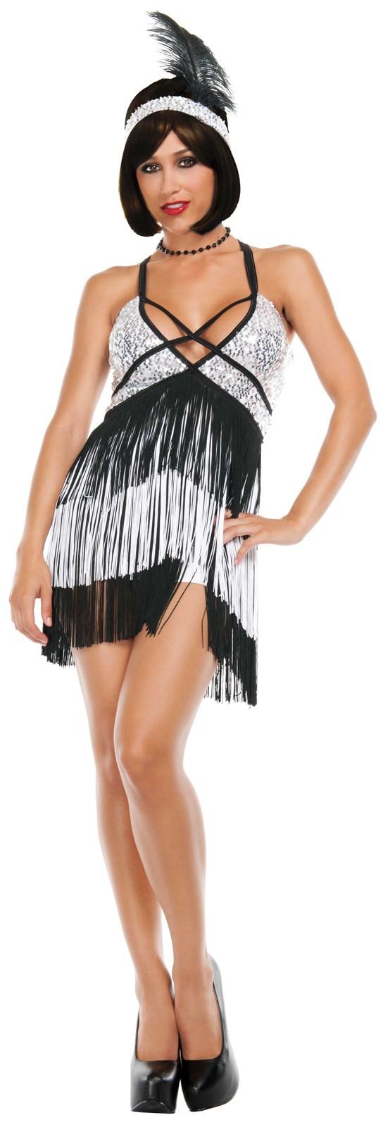 Womens Boardwalk Flapper Costume