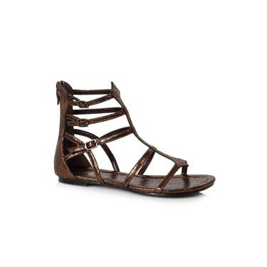 Women's Bronze Gladiator Sandal