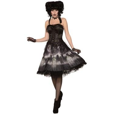 Womens Cemetery Doll Dress Costume