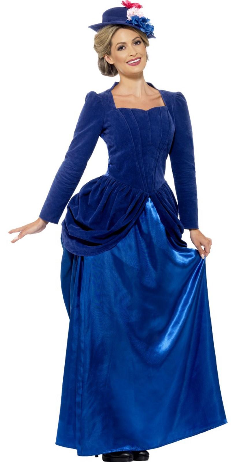 Womens Deluxe Victorian Vixen Costume
