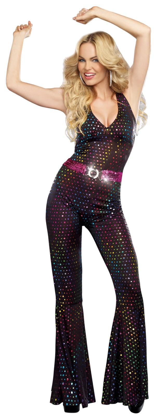 Womens Disco Doll Costume