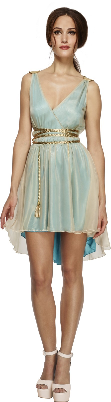 Womens Fever Grecian Queen Costume