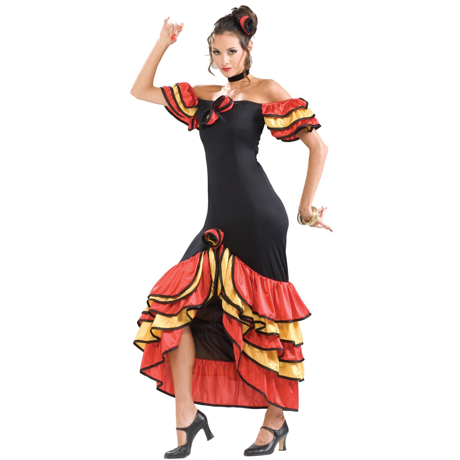Women\u0027s Flamenco Dancer Costume