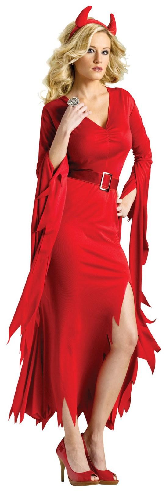 Womens Gothic Devil Costume
