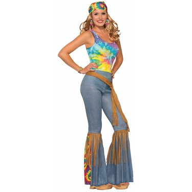 Womens Hippie Pants with Belt