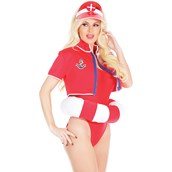 Womens Lifeguard Costume