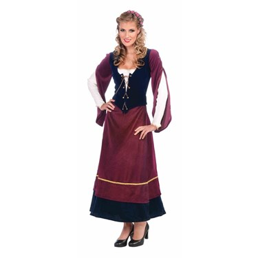 Womens Medieval Wench Adult Costume