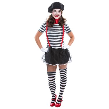 Womens Mime Costume