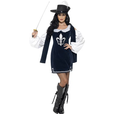 Womens Musketeer Costume