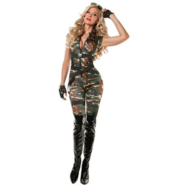 Womens Paratrooper Costume