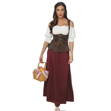 Women's Peasant Lady Costume